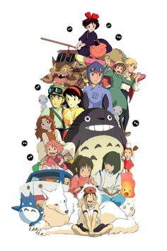 Studio Ghibli Tattoo Design by AlishaArt.deviantart.com on @DeviantArt