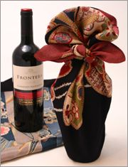 Furoshiki for wine