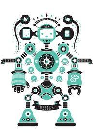 robot poster - Google Search