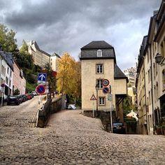 Grund - Luxemburg City - took all of my morning runs here :-)