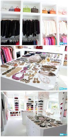 Huge Walk-In Closet...and so Beautiful!