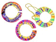 African plate necklaces