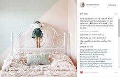 Belle Quilt Set in a big girl's bedroom.