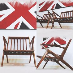 Handmade Z-chairs at www.skinnerdesigns.co.uk  Bespoke handmade furniture