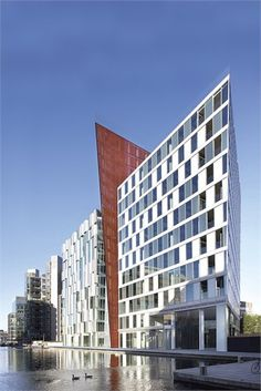 5 Merchant Square Housing, London by Mossessian & Partners Architects