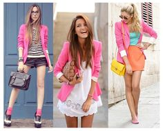 blazer rosa - Pesquisa Google Blazer Shirt, Shirts, Style, Fashion, Pink, Swag, Moda, Fashion Styles, Dress Shirts