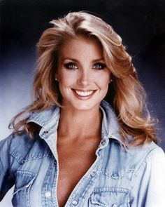 """no need to """"describe"""" . . . its Heather Thomas, one of my favorites from back in the day . . ."""