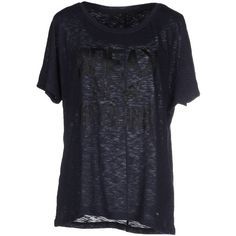 Only T-shirt ($27) ❤ liked on Polyvore featuring tops, t-shirts, dark blue, cotton tee, short sleeve cotton tops, cotton t shirt, short sleeve tee and short sleeve tops