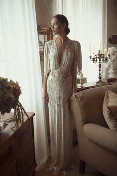 WedLuxe – Ester Bridal Couture – 2015 Collection |  Follow @WedLuxe for more wedding inspiration!