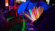 #glow sticks #neon