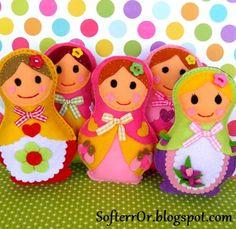 Felt and Dolls on Pinterest