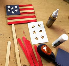 The red sticks for these flags are made with just a little liquid watercolor. And if you color them ahead … Read More