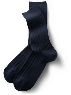 Classic Calf Socks in Navy Blue: Reliable and proven Calf Socks, Sock Shop, Dress Socks, Navy Blue Dresses, Best Sellers, Spring Fashion, Calves, Classic, Cotton