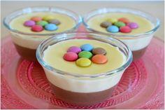 Crème dessert vanille chocolat