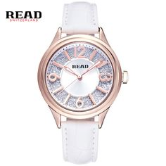 >> Click to Buy << READ Luxury Watches Women Wristwatches Ladies' Leather Quartz Watch Montre Femme Relojes Mujer Relogio Feminino R28030 #Affiliate