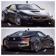 BMW i8 With Manhart Performance