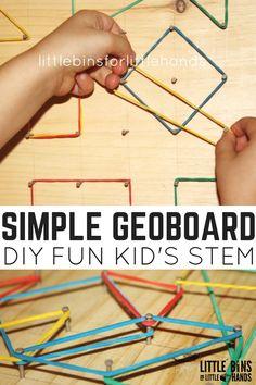 simple-geoboard STEM math