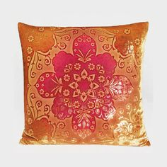 Kevin O'Brien Moroccan Velvet Dec Pillow