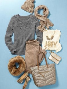 Outfit inspiration from Talbots.