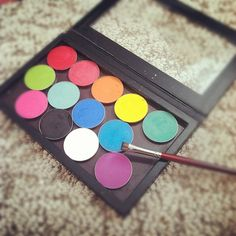 From @pursebuzz: My fave palette. @sugarpillmakeup depotted and all. Need to squeeze poison plum in there