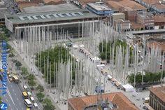 Parque De Las Luces De Medellin The Good Place, Country, World, Awesome, Places, Paths, Buildings, Parks, Cities
