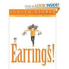 Image result for earrings by judith viorst