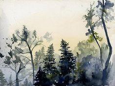 Mystic Forest Canvas Print / Canvas Art by Gretchen Gackstatter