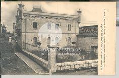 Fachada principal vista desde el ángulo norte by Centro de Estudios de Castilla-La Mancha (UCLM), via Flickr