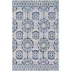 Magnolia Home By Joanna Gaines - Lotus Blue Antique Ivory Rug