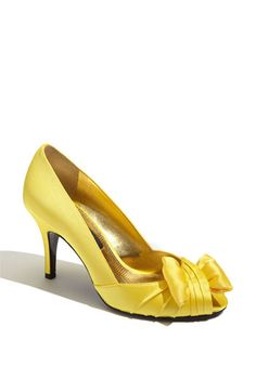 Nina 'Forbes' Peep Toe Pump available at #Nordstrom  I want these in every color.