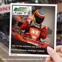 Venha torcer por São Paulo no Campeonato Brasileiro Kart Indoor