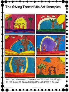 Métis Art Painting Project by Brain Ninjas Indigenous Education, Indigenous Art, Art Lessons For Kids, Art Lessons Elementary, Painting Lessons, Artist Painting, 3rd Grade Art, Grade 3, Harley Davidson Wallpaper