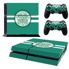 CELTIC FC Playstation 4 PS4 Skin Decal Sticker Cover Playstation 4 Custom Made
