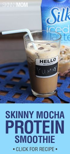 This smoothie satisfies my coffee fix! Love it!