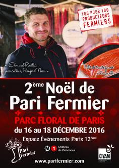 2ème Noël de Pari Fermier au Parc Floral de Paris (Paris 12ème)