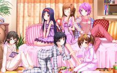 Sinon (Asada Shino), Yuuki (Konno Yuuki), Leafa (Suguha), Asuna (Yuuki Asuna), Sílica (Ayano Keiko) & Lisbeth (Shinozaki) - By Sword Art Online ღ