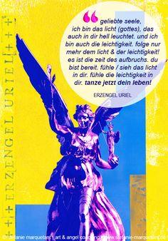 Die Engelbotschaft für Februar 2015 von Erzengel Uriel: »Tanze jetzt dein Leben!« ist das Motto des Monats.  http://www.stefanie-marquetant.de/…/engelbotschaft-februar…/