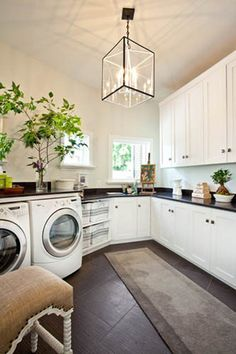 Simple Way of How to Make Home Healthier; Inspiring Tips: Classic Design Natural Laundry Room Make Your Home Healthier