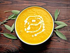 The perfect fall recipe that combines squash, apples, carrots, and coconut milk in a creamy soup the whole family will enjoy.