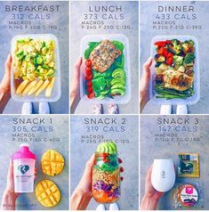 Nutrition, effective pin routine ref 9338389233 to initiate today. Lunch Meal Prep, Meal Prep Bowls, Healthy Meal Prep, Healthy Life, Healthy Snacks, Healthy Eating, Healthy Recipes, Meal Prep Plans, Nutrition