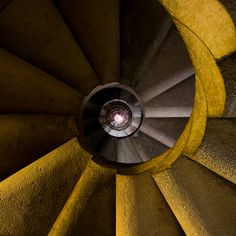 """Sagrada Familia Stairs"" by Michiel Mos"