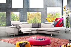VEM - Maak uw familie en vrienden jaloers met deze stijlvolle salon Vem. De beweegbare hoofdsteunen zorgen voor een optimaal comfort | Meubelen Crack
