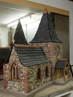 This majestic church is another great addition to Roger's designs. It is a simple typical church design, however still enchanting. If preferred, Roger can reconstruct a church that is preferable to...