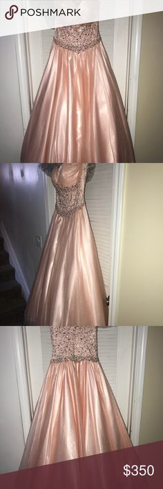 Prom dress Selling my prom dress! Originally it was a size 2, I had it altered to fit a 4. I only wore it once, it's in perfect condition! :) bought for $400 selling for $350. Jovani Dresses Prom