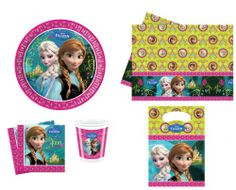 43 tlg. Disney Frozen Die Eiskönigin Kindergeburtstag Deko Set