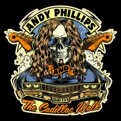 "Design commission ""Andy Phillips & the Cadillac Walk"" - Australia 2015"
