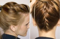Pulled-up braid