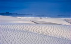 Tempestuous Dunes of White Sands National Monument by Michael Menefee  Source: Flickr