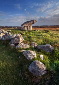 This is one of Ireland's most spectacular dolmens in Co Donegal.
