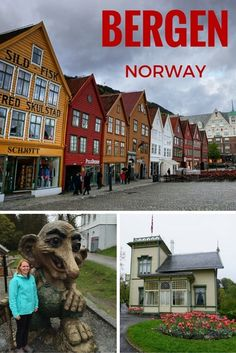 Ride to the top of Mt. Floyen, explore Hanseatic history, and eat delicious seafood in scenic Bergen, Norway. Top stops and tips to make your visit perfect. Top Stops in Bergen, Norway | tipsforfamilytrips.com